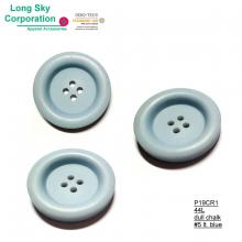 (#P19CR1) 44L large light blue button for overcoat
