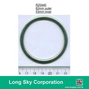 (#RZ0440/53mm) silver zinc metal ring for 2 inch wide fabric webbing