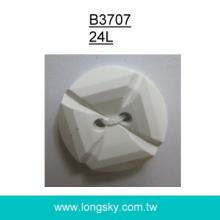 (#B3707/24L) 15mm 2 holes nylon button for garments