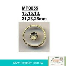 Metal with polyester combined button (#MP0055)