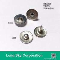 (MB2901/9.5mm) classical meatal brass stud for garments, pants