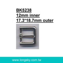 Metal Belt Buckle (#BK5238-12mm)