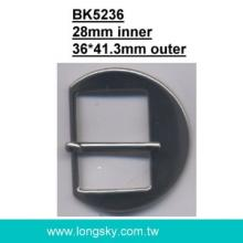 Metal Belt Buckle (#BK5236-28mm)
