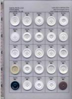 Designer Polyester Resin Chalk Clothing Buttons P0-CR1