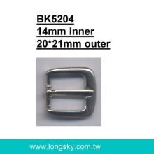 Clothing Belt Buckle (#BK5204-14mm)