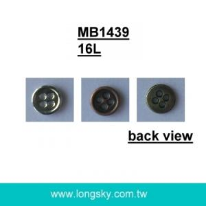 (MB1439/16L) 10mm small metal shirts button for clothing