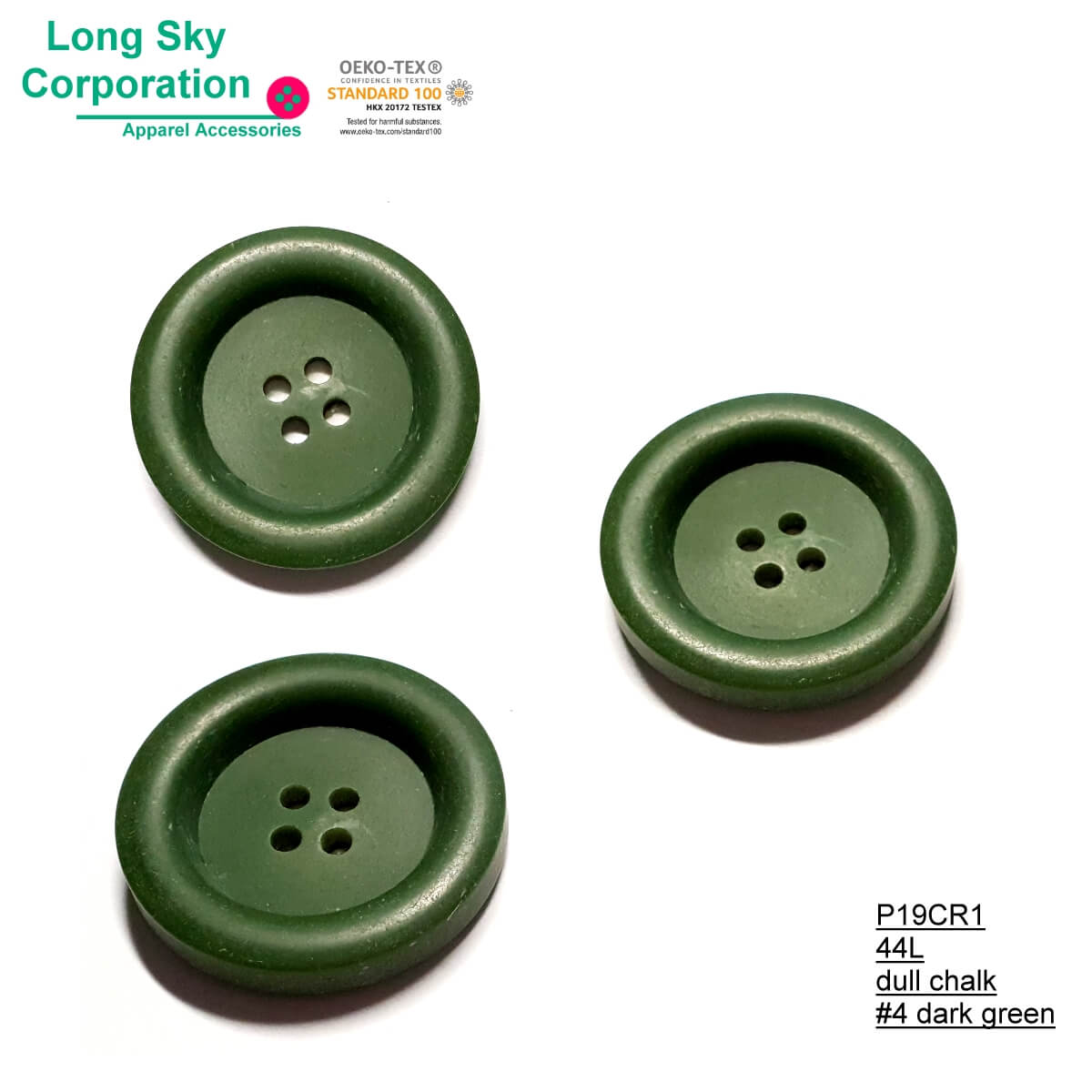 (#P19CR1) Big fancy colored button for women suit