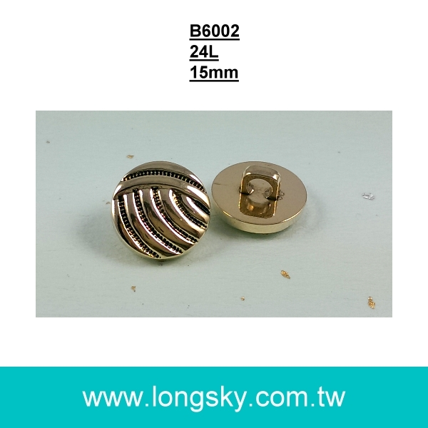 (#B6002/24L) 15mm antique gold plating buttons maker for clothing
