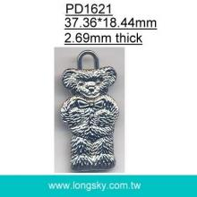 Bear pendant accessory for garments (#PD1621)