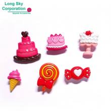 (#B76-4) Valentine's Day cute sweets craft buttons