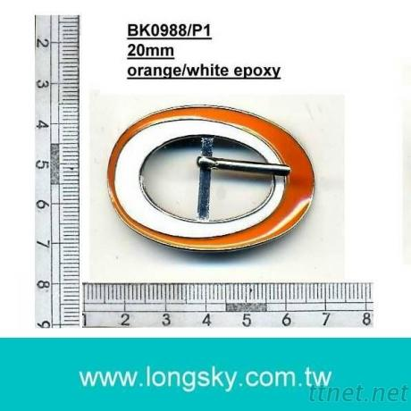 Oval Buckle for shoes (#BK0988/20mm inner)