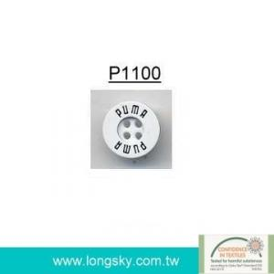 (#P1100) Laser engraved plastic button for man's shirts