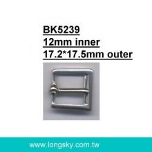 Small Metal Buckle for Coats (#BK5239-12mm)