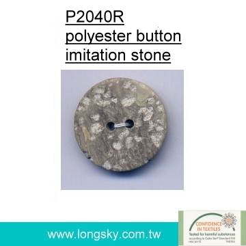 (#P2040R) fashion plastic imitation stone button for shirt