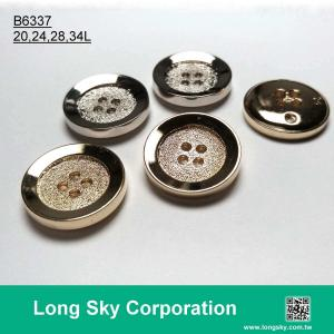 (B6337/20L,24L,28L,34L) 4 hole classical round cloth button