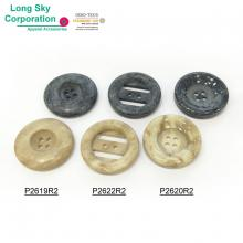 (#P2619R2, P2620R2, P2622R2) special stone finish designer coat button