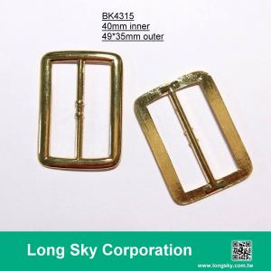 (#BK4315) 40mm inner rectangle metal belt buckle