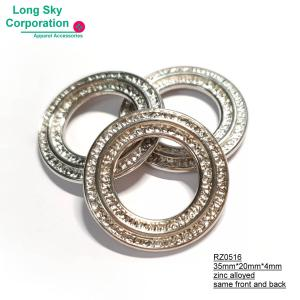 (RZ0516) 20mm inner fancy decorative metal round ring